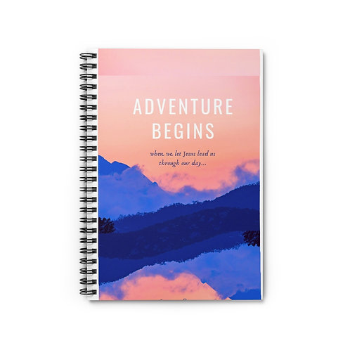 ADVENTURE...Spiral Notebook - Ruled Line