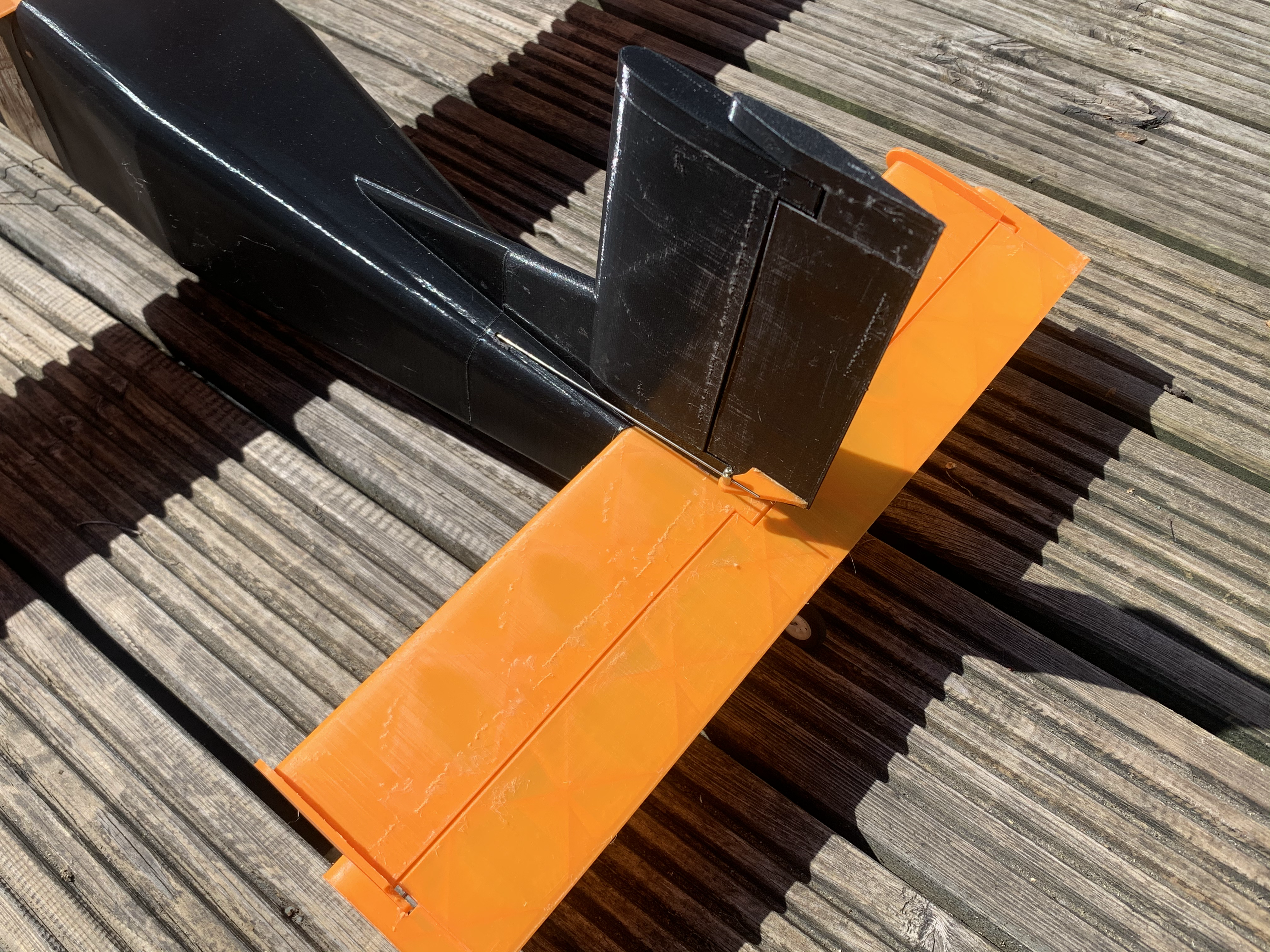 3d printed rc Pilatus Porter tail