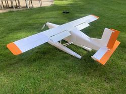 3d printed Pilatus floatplane rc