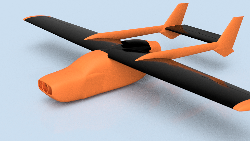 rc3Dprint Skymaster 337