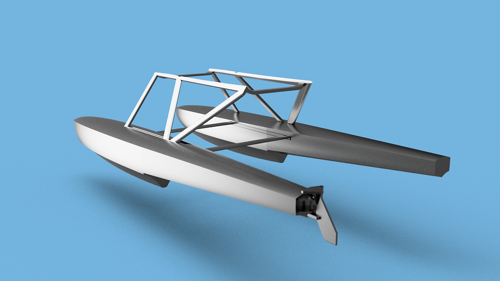 Add-On Floats for the Pilatus Porter