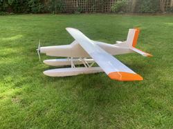 3dprinted rc plane porter pc6