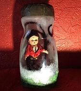 Haunted doll art object