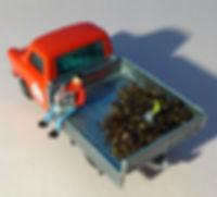 pickup truck toy art