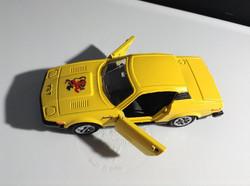 Yellow custom tv show car.