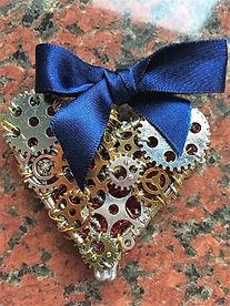 Art piece, steampunk my clockwork heart