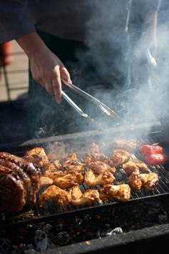 BBQ Chicken piri piri wings