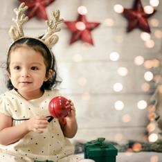 Sesión Navideña Infantil My Happy Baby