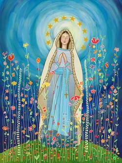 Virgencita de Lourdes