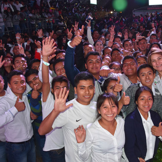 Starting of an Electoral Campain in Chiapas
