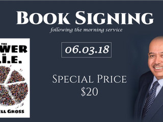 """""""Power of PIE"""" Book Signing with Elder Russell Gross (free eBook version included) at The"""