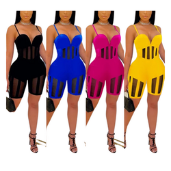 NITE OUT ROMPER 3 COLORS