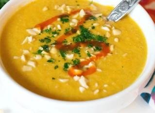 21 Day Fix Thai Carrot Curry Soup