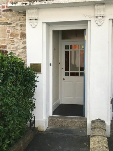 12 Walsingham Place front door
