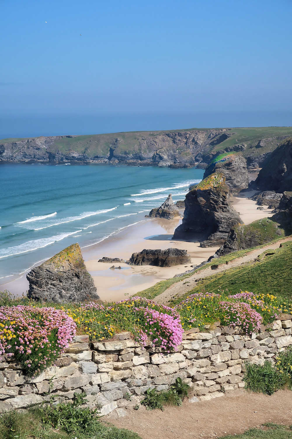 Cornish coast path walking, treat sitting disease, counter sedentary lifestyle. Cheap, safe and life enhancing. Wellbeing nectar
