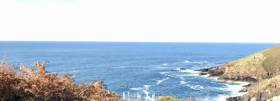 Stunning coastal scenery