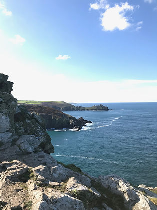 Cornish coastpath November - still stunning