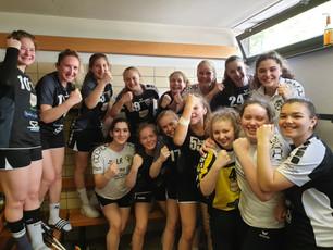 Weibliche B1 qualifiziert sich für die RPS-Oberliga