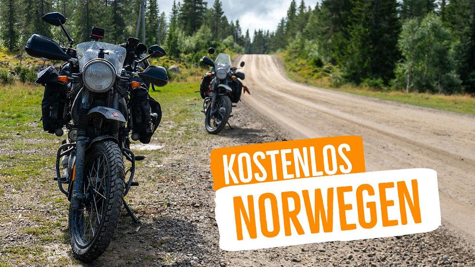 Norwegen Motorradtour (GPX-Download)
