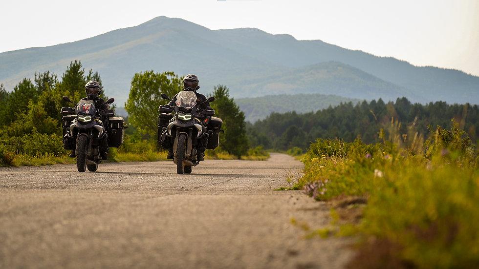 Quer durch Bosnien mit Motorrad