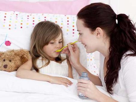Как да  изберем спрей за нос при деца