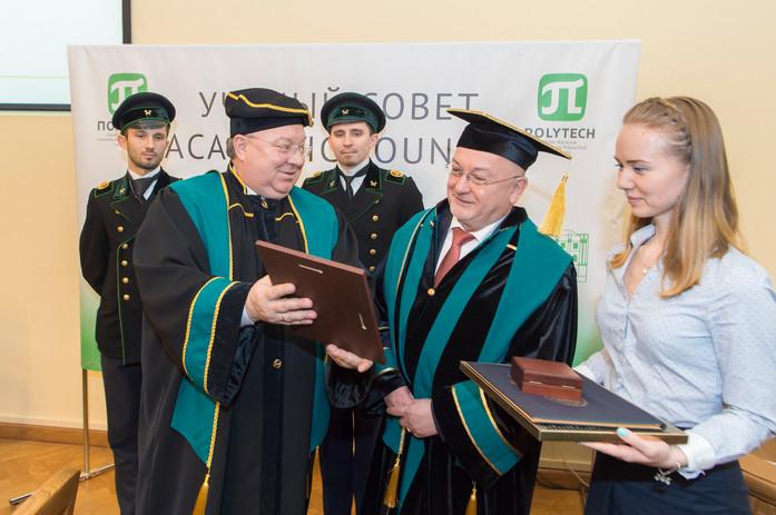 Ehrendoktor St. Petersburg