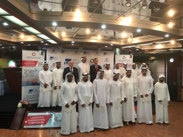 Abschlußzeugnis in Abu Dhabi 13. September 2017