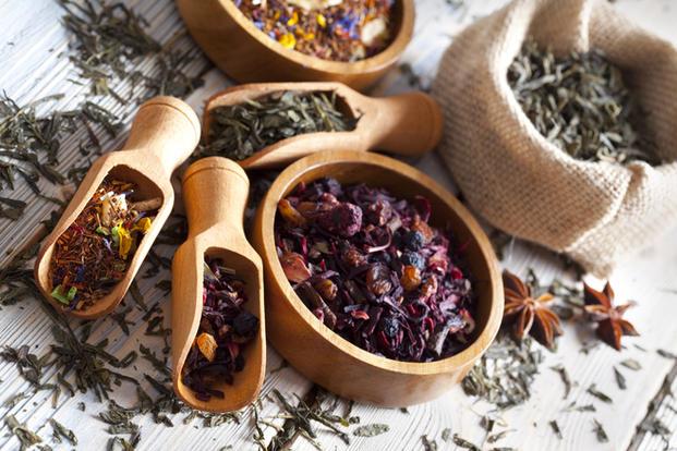 individ. mischen von Tee