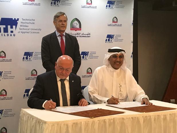 Gründung der Deutsch-Emiratischen Hochschule für Logistik (DEHL)