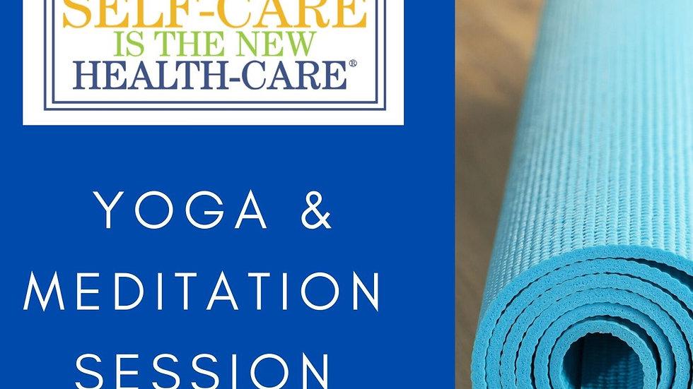 Yoga & Meditation Session