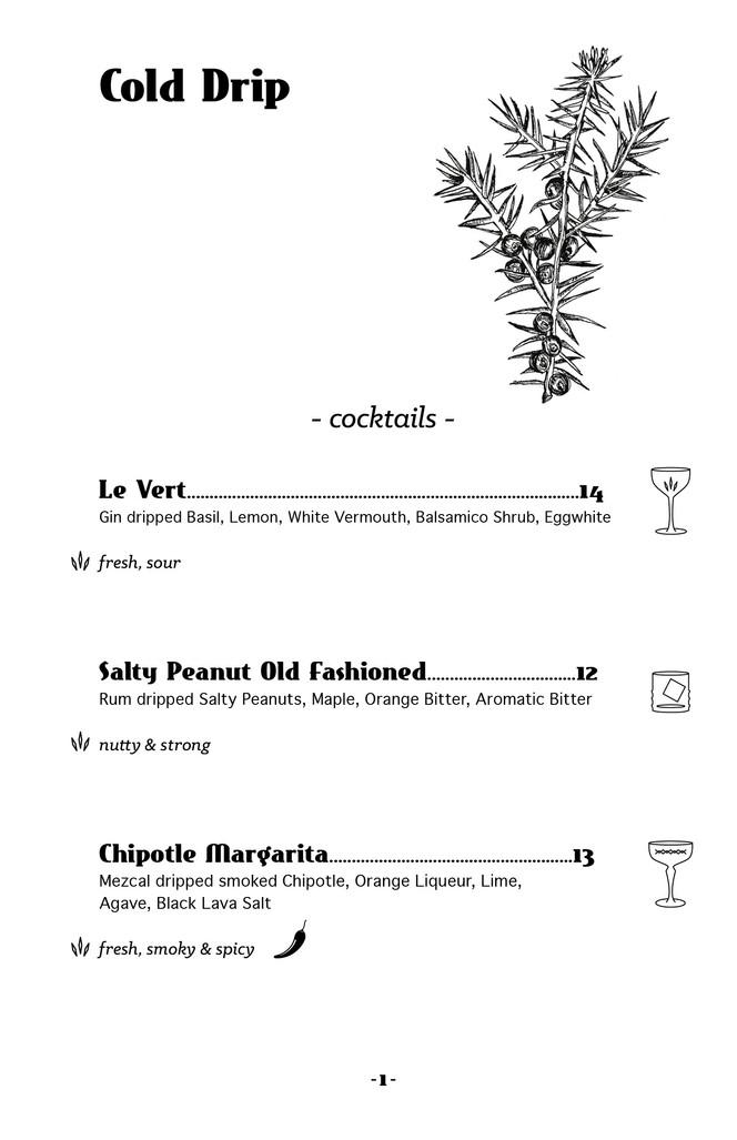 Bar Karte