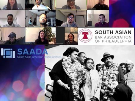 The Recap:  SAADA Event