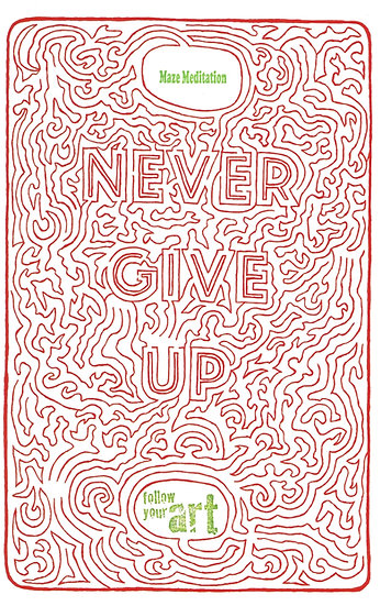 Never Give Up On Your eARTh Print