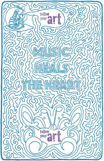 Music Heals The Heart
