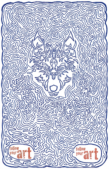 Wolfman Brother Print