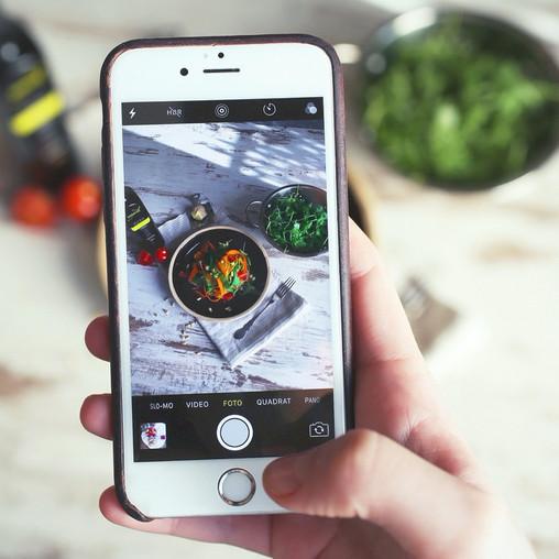 La technologie désormais indispensable; son impact sur les habitudes alimentaires