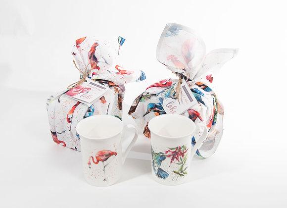 Tea Towel & Mug Gift Set