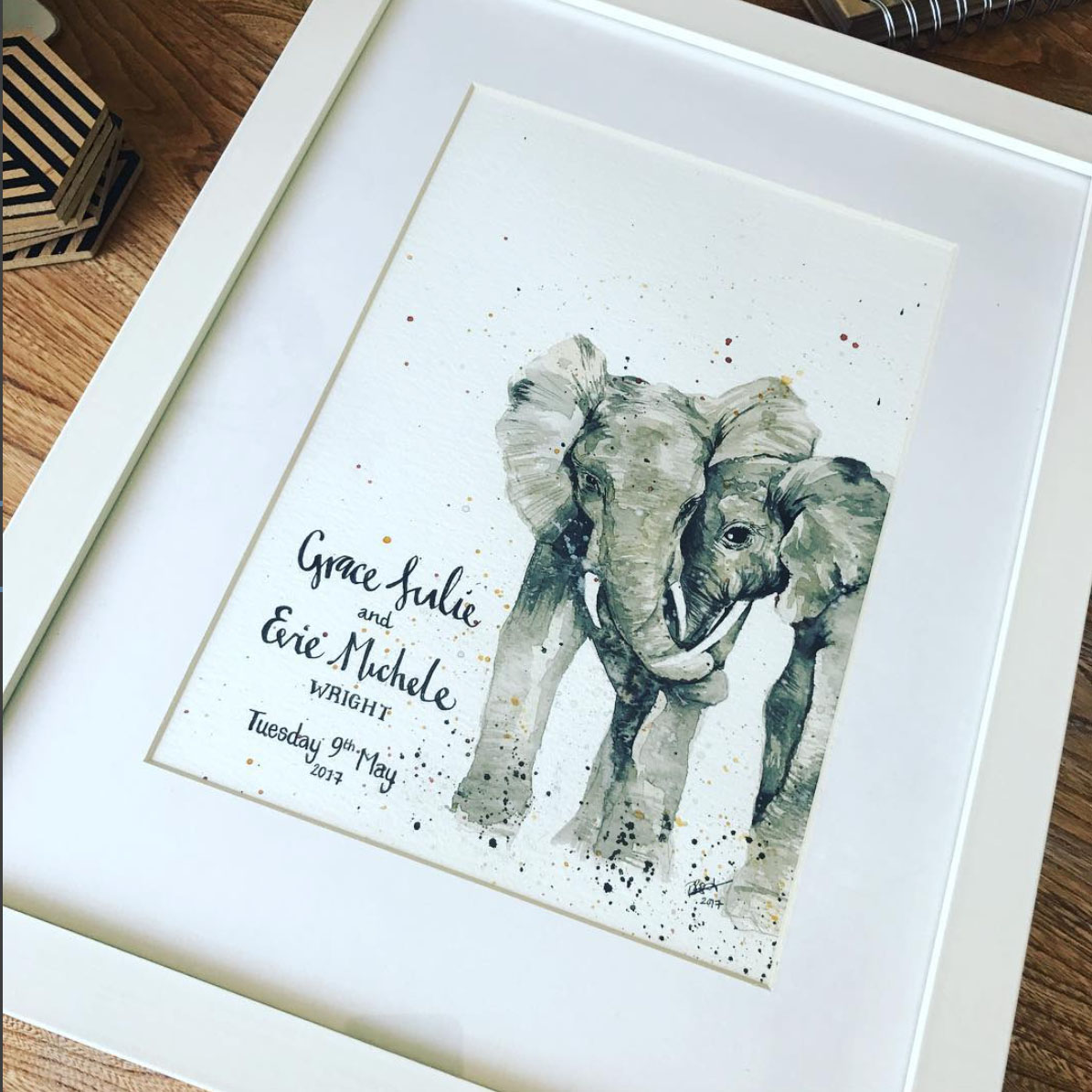elephants_Watercolour