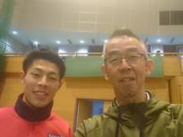 岩松選手の試合観戦に行ってきました