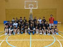 練馬区の高校生、中学生31名のクリニックを行いました