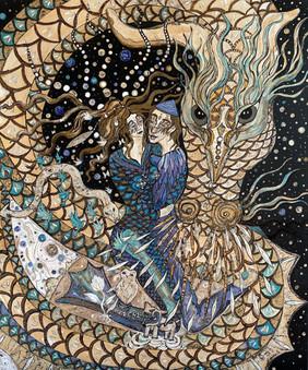 couple aux dragons