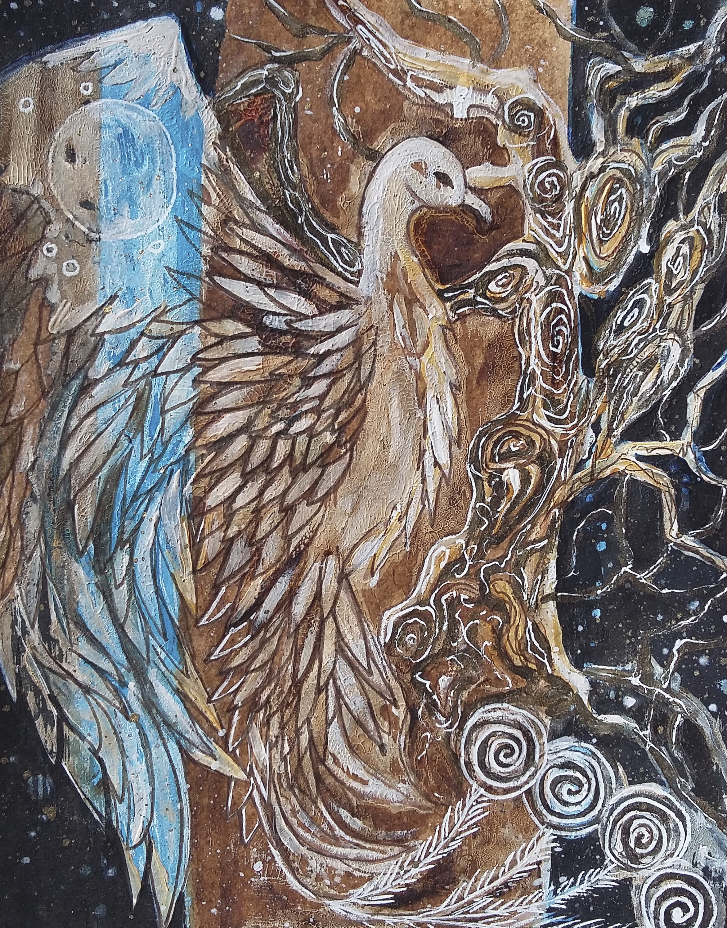 """oiseau Phoenix"""