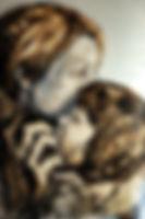 03-1_La_mère_et_l'enfant,_tech_mixte_sur