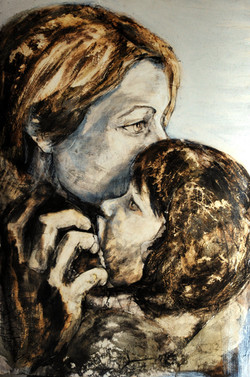 """""""mère et enfant"""""""