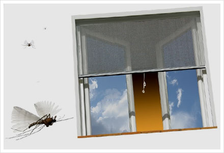 Telas mosquiteiras