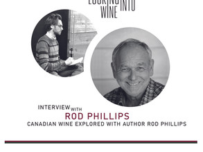 CANADIAN WINE EXPLORED WITH AUTHOR ROD PHILLIPS