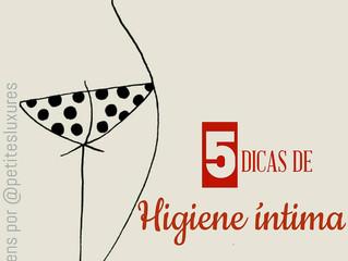 5 dicas de Higiene Íntima
