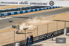 GINO REA TO MISS QATAR SEASON FINALE WITH BROKEN HAND FOLLOWING 100MPH COLLISION AT JEREZ