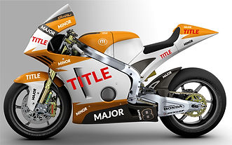 The GRR8T FTR Moto2 2013 Design