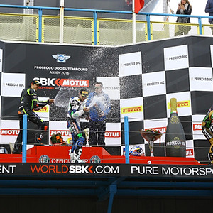 WorldSSP RD4 Assen Podium